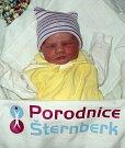 Zuzanka Rubíková, Moravský Beroun, narozena 7. února ve Šternberku, míra 46 cm, váha 2520 g