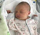 Ema Bublová, Litovel, narozena 13. července, míra 50 cm, váha 3230 g