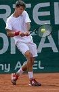 Mezinárodní tenisový turnaj juniorů do 18-ti let ve Vésce. Filip Duda