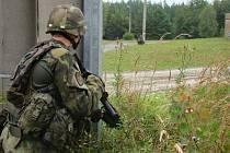 Poslední výcvik přáslavických vojáků před misí v Afghanistánu