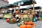 Farmářské trhy na Dolním náměstí v Olomouci