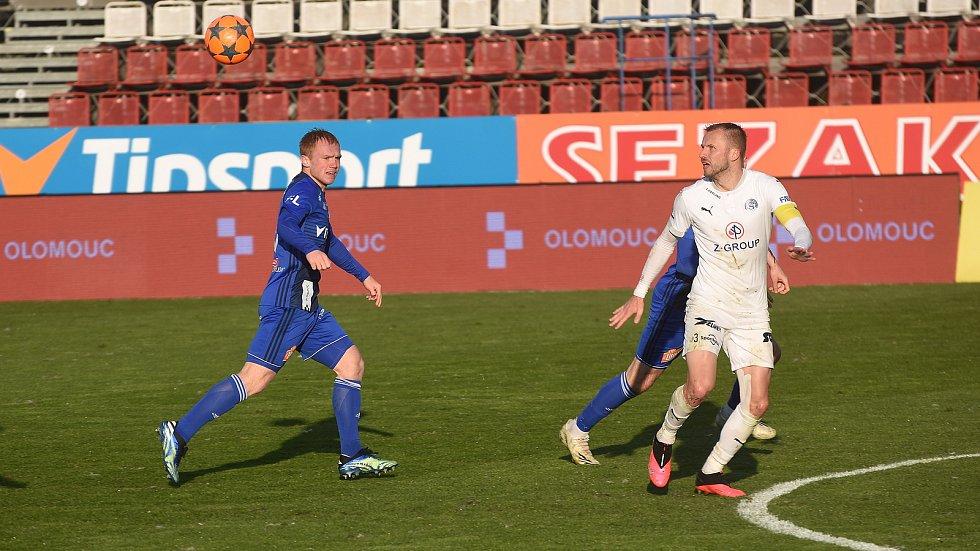 Olomouc remizovala doma se Slováckem v dohrávce 23. kola 0:0.