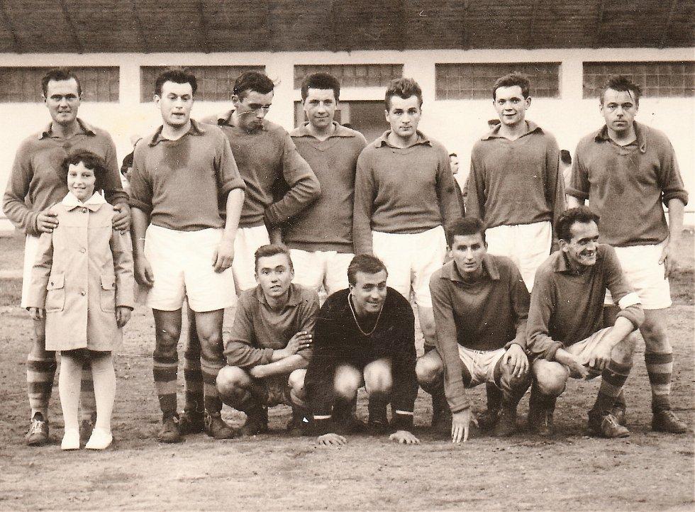 Družstvo Litovle na podzim 1962