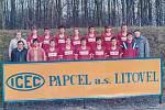 Divizní tým Tatranu Litovel v sezoně 1992/93.
