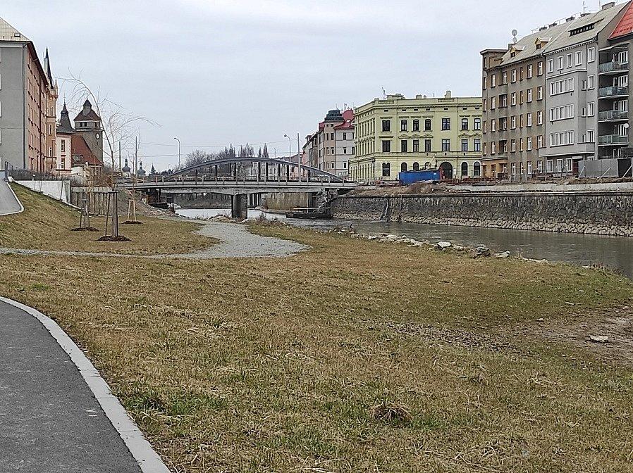 U soutoku Moravy a Bystřice