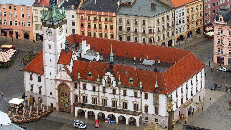 Olomoucká radnice. Ilustrační foto