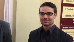 Bývalý ředitel tršické školy Jaromír Vachutka u olomouckého okresního soudu v březnu 2017