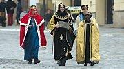 Tři králové vyrazili do ulic Olomouce