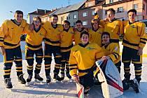 Hráči Šumperku reprezentující Olomoucký kraj na Olympiádě dětí a mládeže