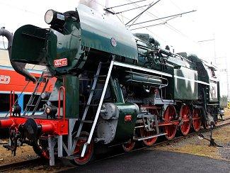 Parní lokomotiva Rosnička