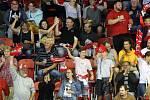 Olomoučtí fanoušci na přípravném zápase Mory s Kometou Brno