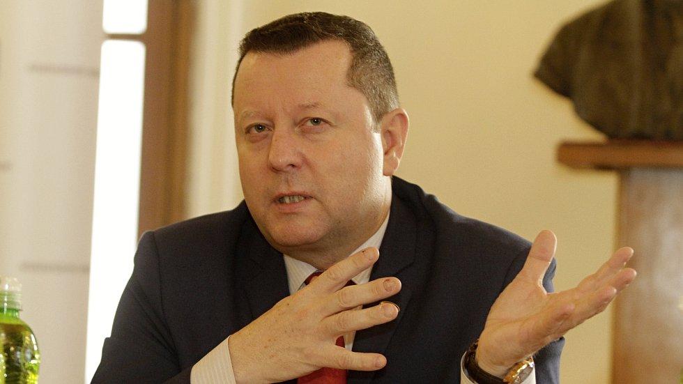 Antonín Staněk, primátor města Olomouc