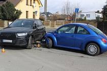 Dopravní nehoda v Uničově, 4. 3. 2020
