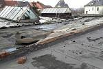 Následky silného větru v Olomouckém kraji. 10.2.2020