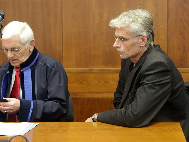 Jan Večer u Vrchního soudu v Olomouci
