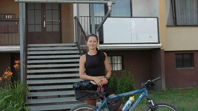 Kateřina Borková bydlí kousek od centra Olomouce