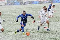 Fotbalisté Slovácka v úterní dohrávce 23. kola remizovali v Olomouci 0:0.