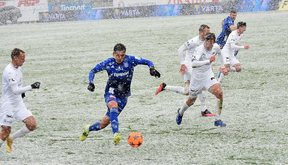 Olomouc remizovala doma se Slováckem v dohrávce 23. kola 0:0.Mojmír Chytil