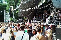 Tisíce návštěvníků si včera užily skvělou atmosféru na jednodenním festivalu Kryštof kemp v Náměšti na Hané.