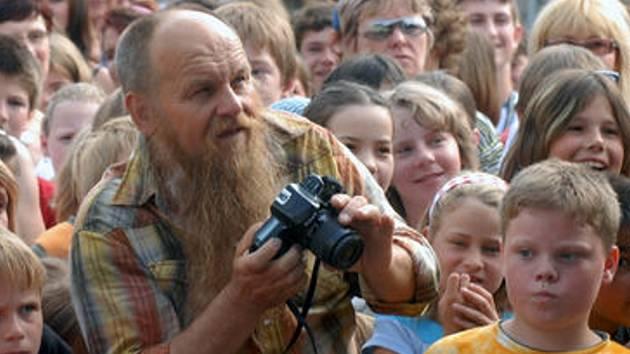 Libor Vojkůvka také rád fotí.