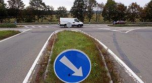 Riziková křižovatka u Mohelnice