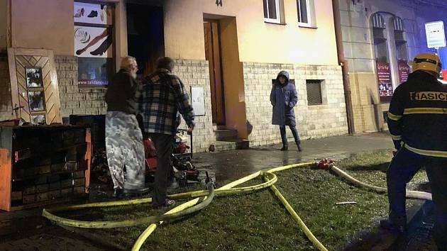 af4504359ee VIDEO  V Olomouci hořelo v obchodu s obuví - Olomoucký deník