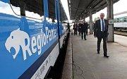 Nový vlak ČD RegioPanter v Olomouci