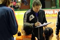 Trenér olomouckých volejbalistek Jiří Teplý