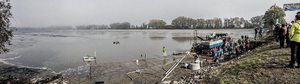 Výlov šumvaldského rybníka