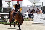 Marco Filippo Bologni. Světový pohár CSI*** Olomouc. Závody pro šestileté a sedmileté koně.