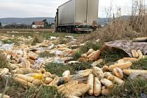 Nehoda kamionu u Bělkovic