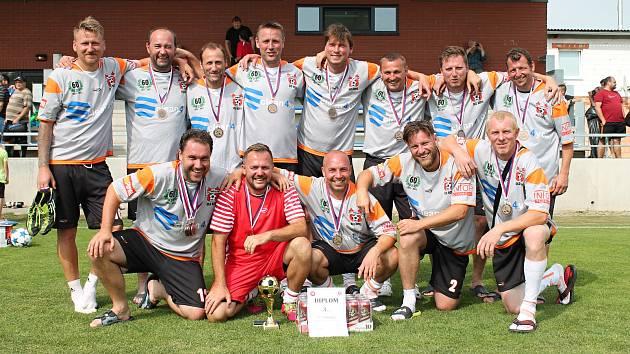 FC Hněvotín vybojoval bronz na na finálovém turnaji veteránského fotbalu.