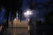 Ohňostroj na Hanáckých Benátkách 2016