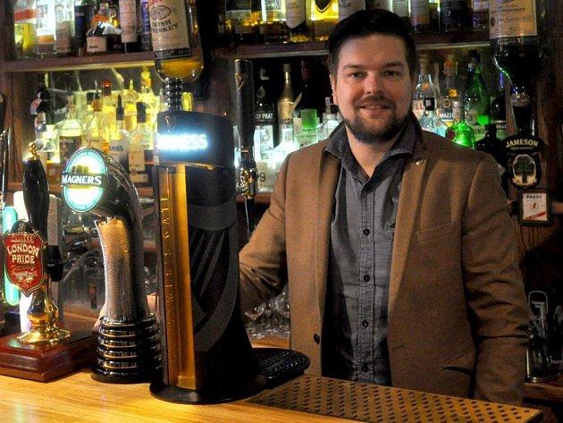 Zdeněk Kortiš, provozovatel Black Stuff Irish Pub vOlomouci