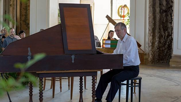 Klavírista Jan Tůma