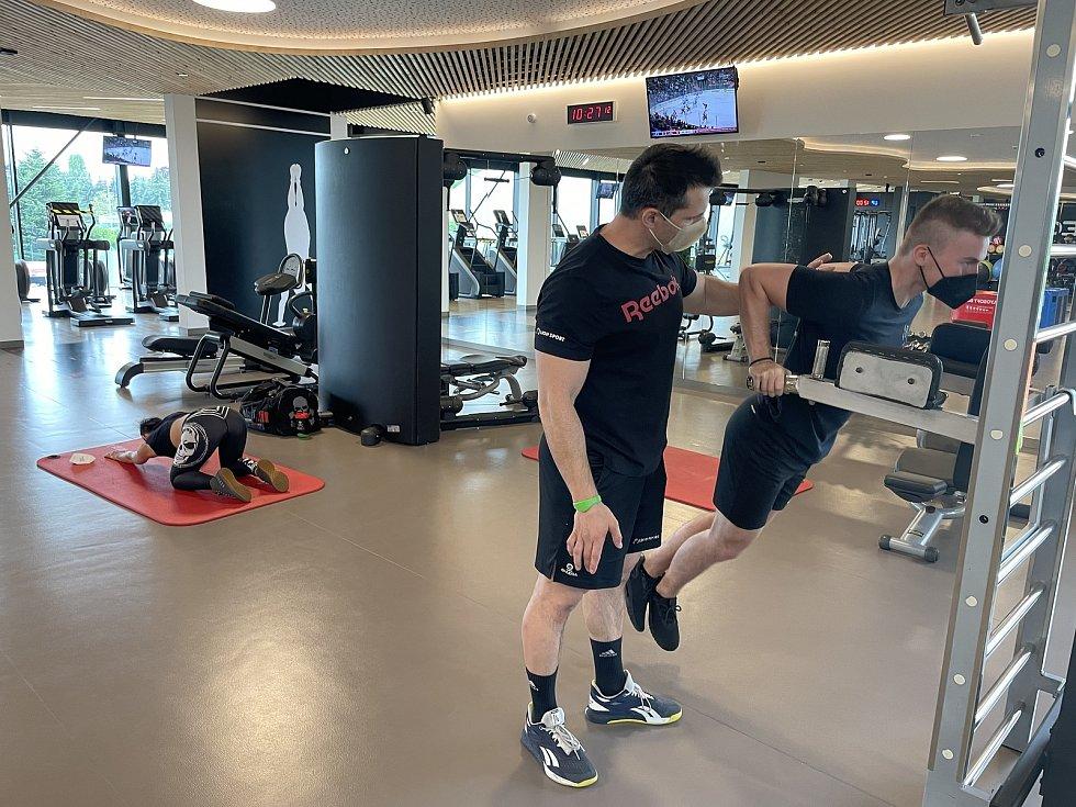 OMEGA centrum sportu a zdraví v Olomouci, 17. května 2021