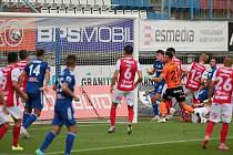 Olomoučtí fotbalisté porazili doma Pardubice 3:2 (1:1)