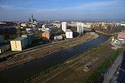 Rozšiřování koryta Moravy v Olomouci kolem VŠ kolejí (od třídy Kosmonautů po soutok s Bystřicí)