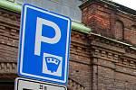Parkování v centru Olomouce