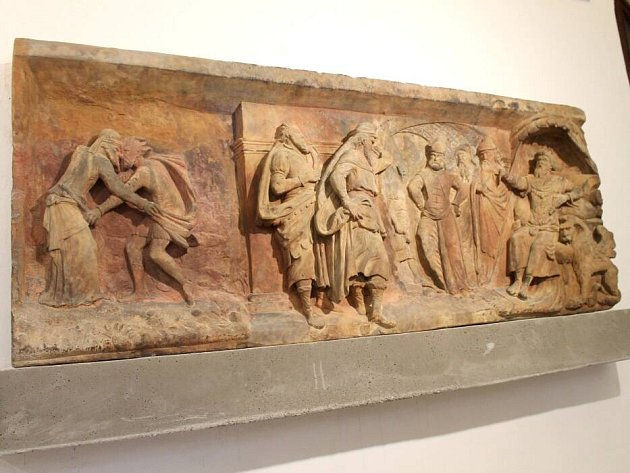 Renesanční reliéfy ve Vlastivědném muzeu v Olomouci