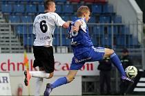 FC Graffin Vlašim – SK Sigma Olomouc. Ilustrační foto.