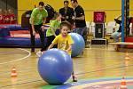 V olomoucké Čajkaréně se konal další ročník akce Sportovní hvězdy dětem.