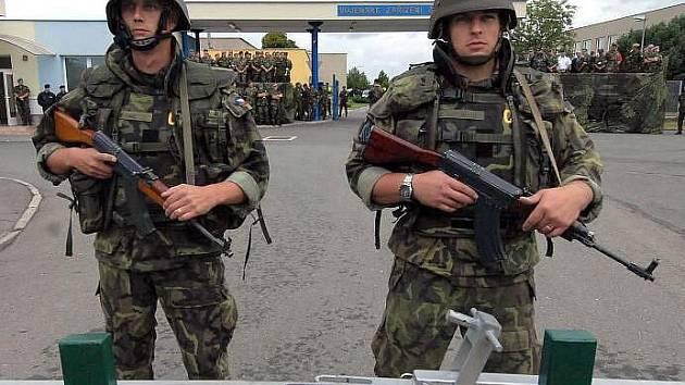Vojenské cvičení Boleslavská hradba na základně ve Štěpánově