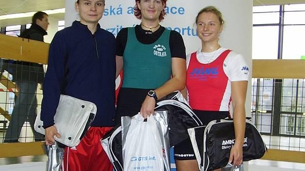Pavlína Žižková uprostřed.
