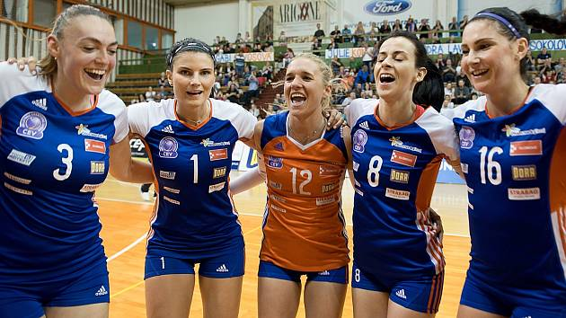 Olomoucké volejbalistky. Ilustrační foto