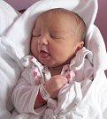Eliška Chocholová, Topolany, narozena 13. dubna v Olomouci, míra 49 cm, váha 3320 g