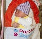 Marianna Mačkalová, Olomouc, narozena 13. března ve Šternberku, míra 52 cm, váha 3560 g