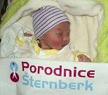 Jasmína Malec, Šternberk, narozena 26. prosince ve Šternberku, míra 50 cm, váha 2940 g