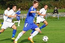 Fotbalisté FK Šternberk prohráli na domácím hřišti s FC Kralice na Hané 0:2.