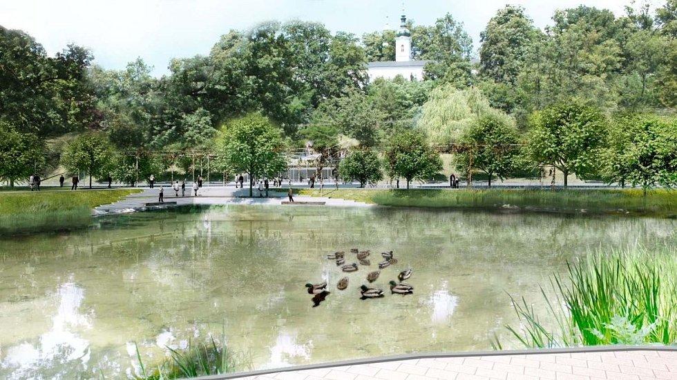Studie zpřístupnění řeky Bečvy ve Vsetíně